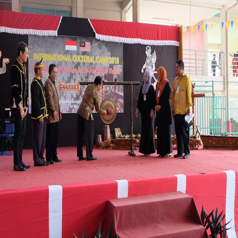 ICC (International Cultural Camp 2018) The Tradisional Heritage as The Identity Of Nation